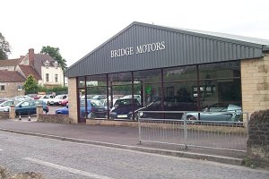 quality used car showroom